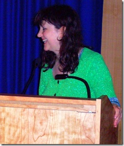 Esther Leslie giving the opening address at Animation Unlimited 2008