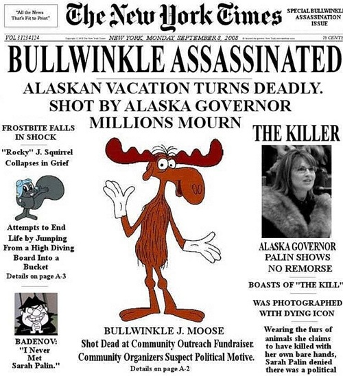 Bullwinkle Assassinated