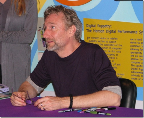 Brian Henson at Center for Puppetry Arts