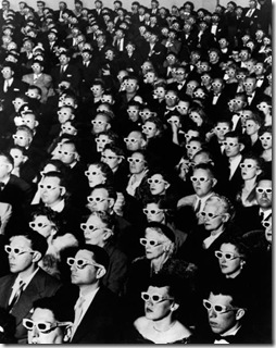 Audience at Los Angeles premiere of Bwana Devil