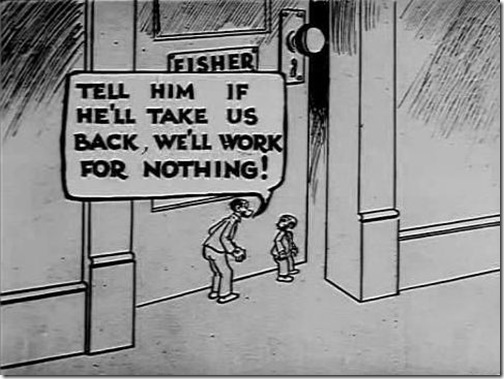 Mutt and Jeff in On Strike-36