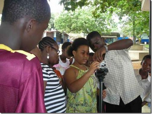 2009 International Animation Day Workshop in Ghana