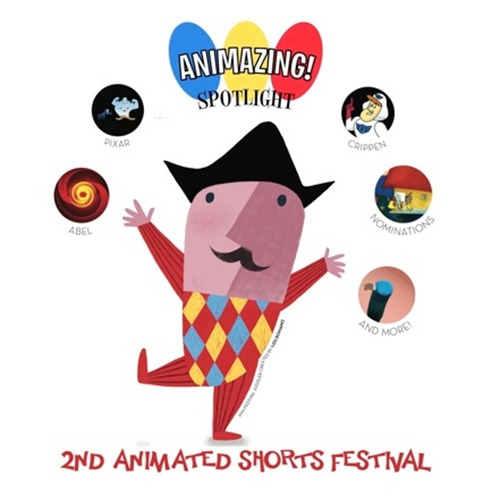 AniMazing Spotlight 2010 logo, Juggler designed by Lou Romano