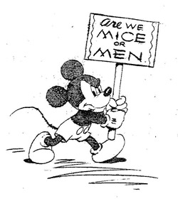 Disney Strike Are We Mice or Men