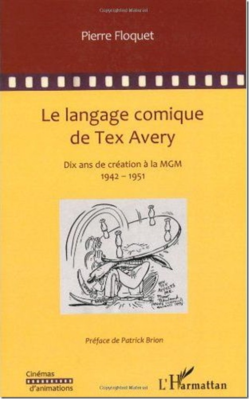 Le language comique de Tex Avery by Pierre Floquet (cover)