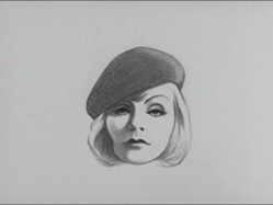 Greta Garbo caricature from Richard Williams Pordenone 2011 trailer 02