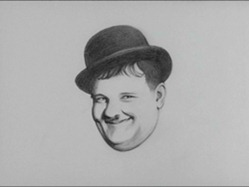 Oliver Hardy caricature from Richard Williams Pordenone 2011 trailer 04