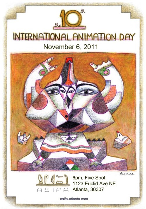ASIFA-Atlanta Animation Day 2011 Poster
