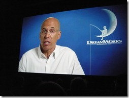 Jeffrey Katzenberg's video talk at SAS 25
