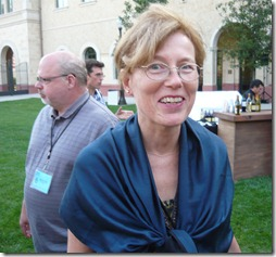 Vibeke Sorenson with Donald Crafton in background at SAS 25