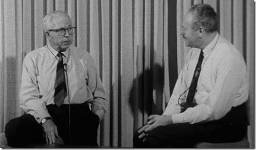 King Vidor being interviewed by Arthur Knight at USC